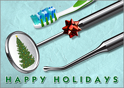 Dental Holiday Card