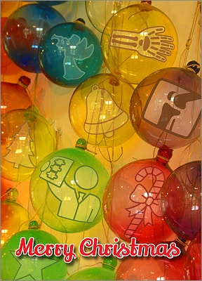 Radiology Glass Ornaments (Glossy White)