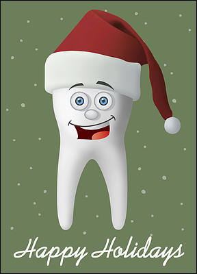 Holiday Molar (Glossy White)
